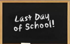 June 5th, Last Day of School, is an Early Release Day!