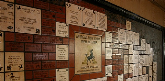 AHS Wall of Fame
