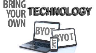 Bring your own technology logo