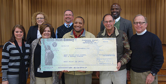 TVA Donates to West Point Schools