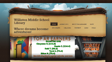 WMS Library Website