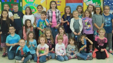 Reedy Elementary Literacy Fair Winners