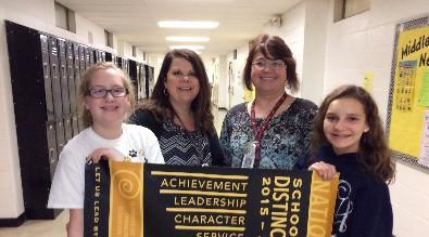 Scotts Hill Elementary Beta Club Honored
