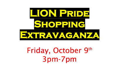 SHHS Shopping Extravaganza