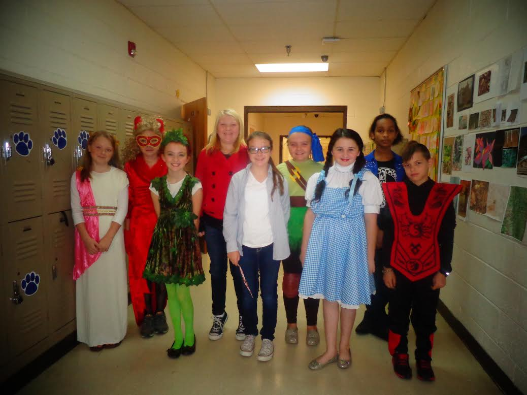 Westover Students Dress as Characters for Halloween