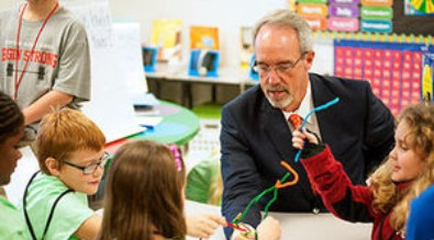Dr. Bice Visits Talladega County Schools