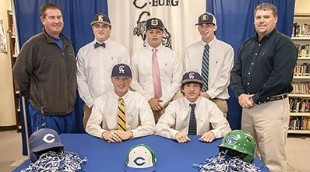 Five Childersburg Baseball Players Sign Scholarships