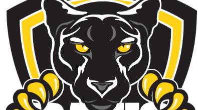 Davis School Logo. Clipart of Black Panther.