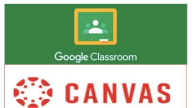 Canvas and Google Classroom