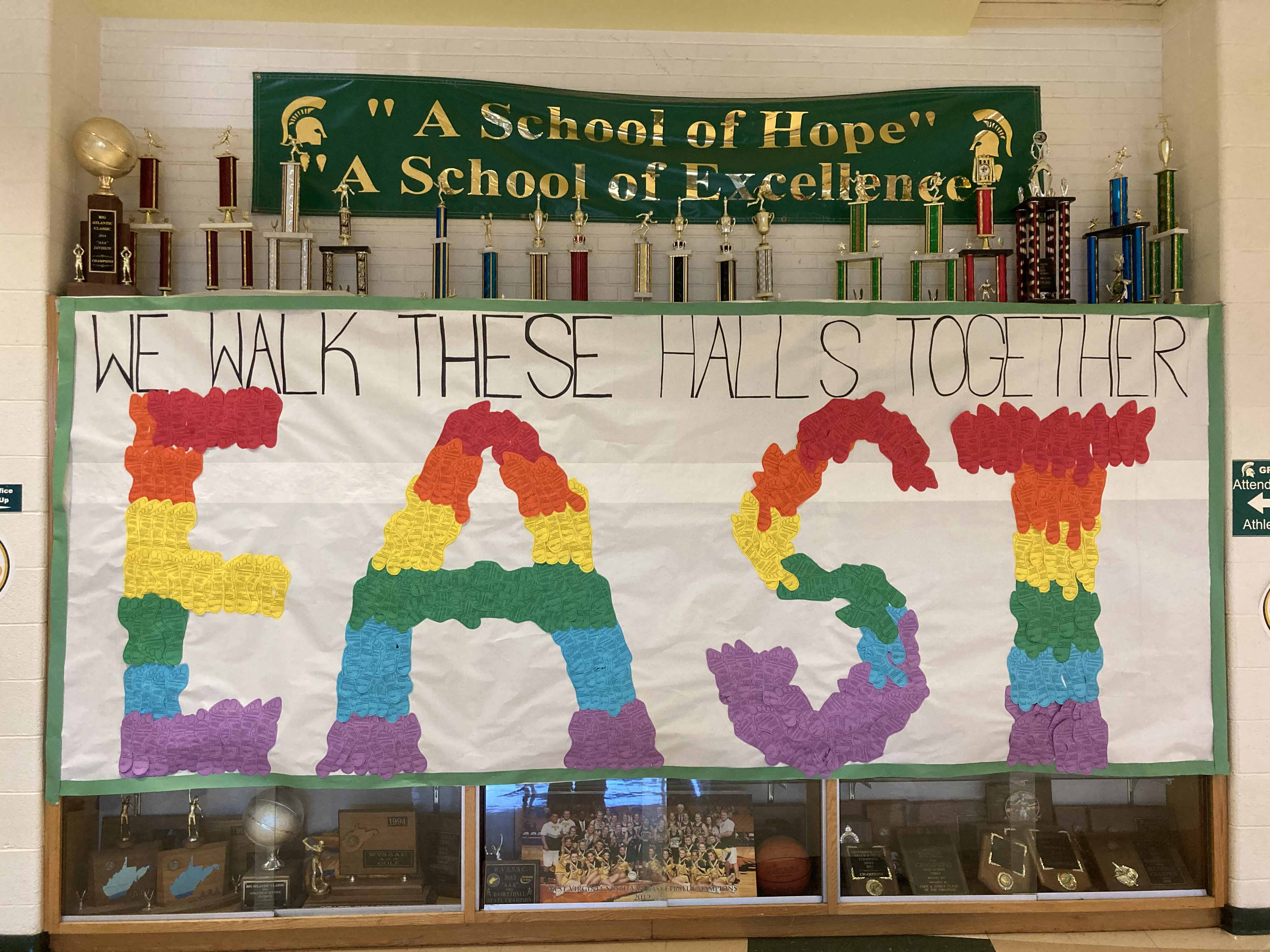 Making our pledge display