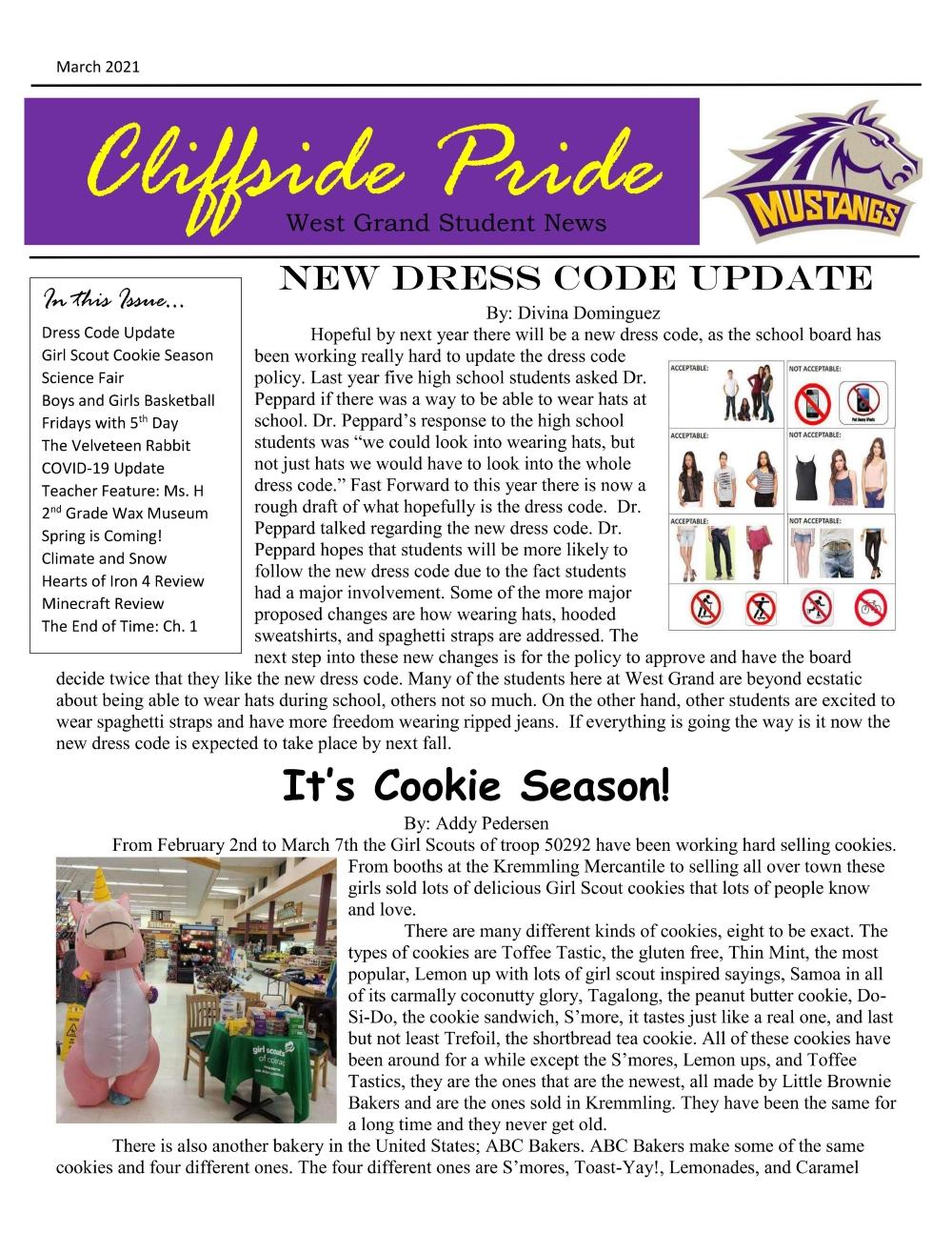 Cliffside Pride pg 1