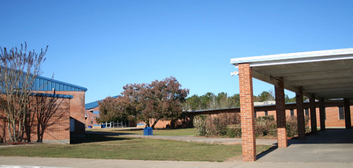 High School front building
