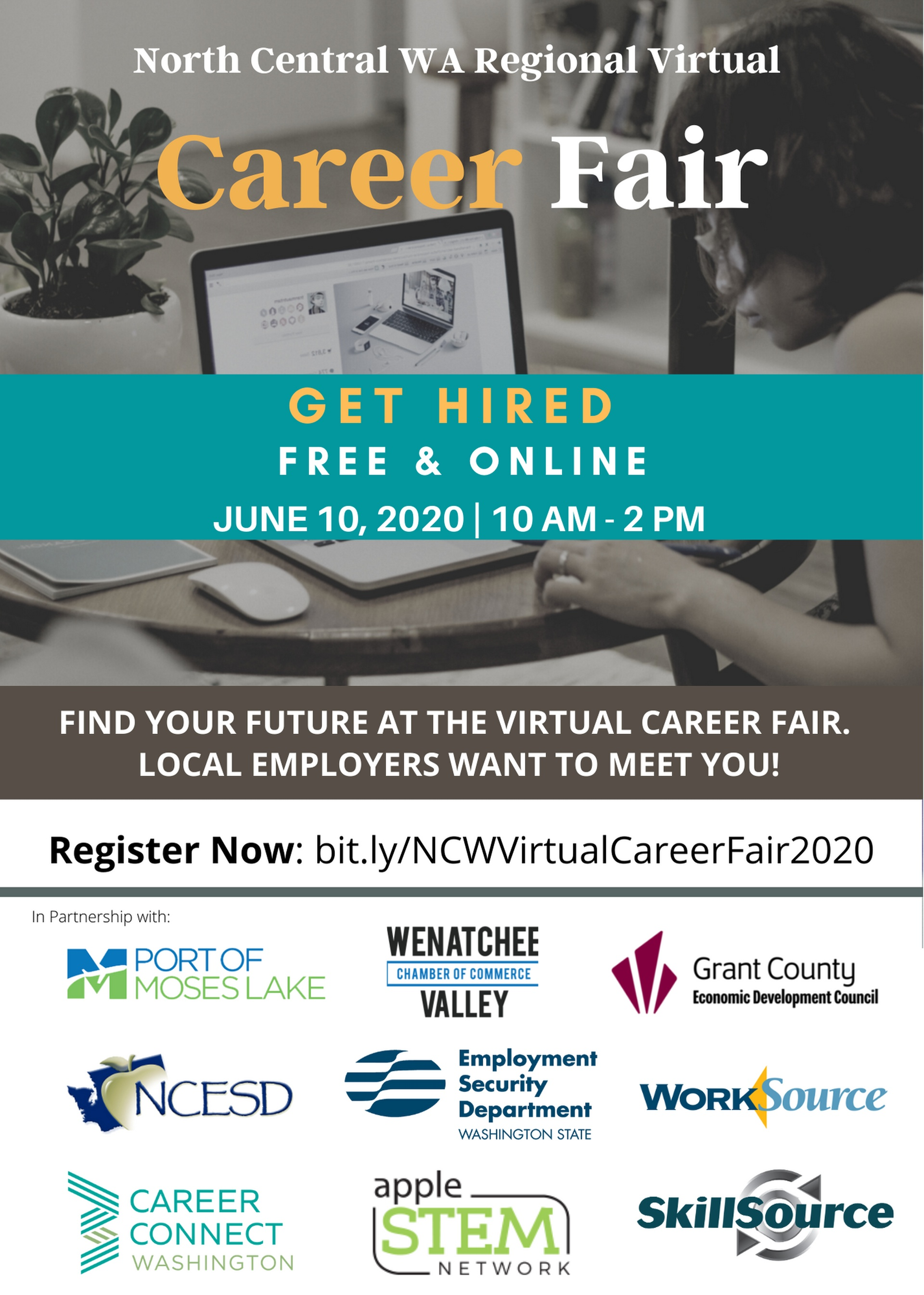 North Central WA Regional Virtual Career Fair 2020