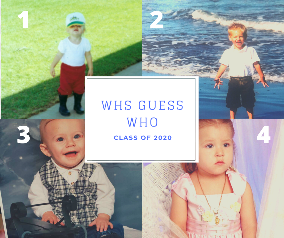WHS Guess Who, Class of 2020, 6/5