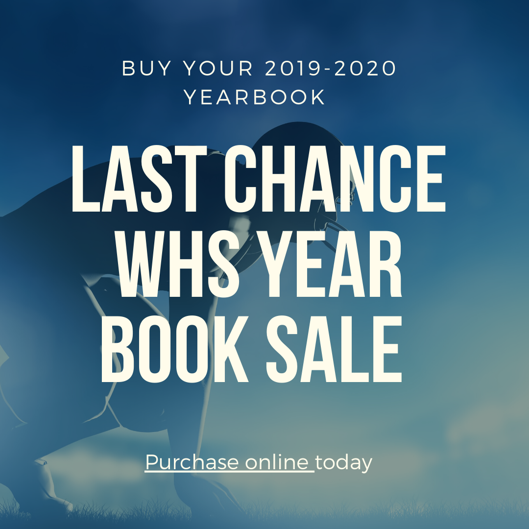2019-2020 Yearbook Sales
