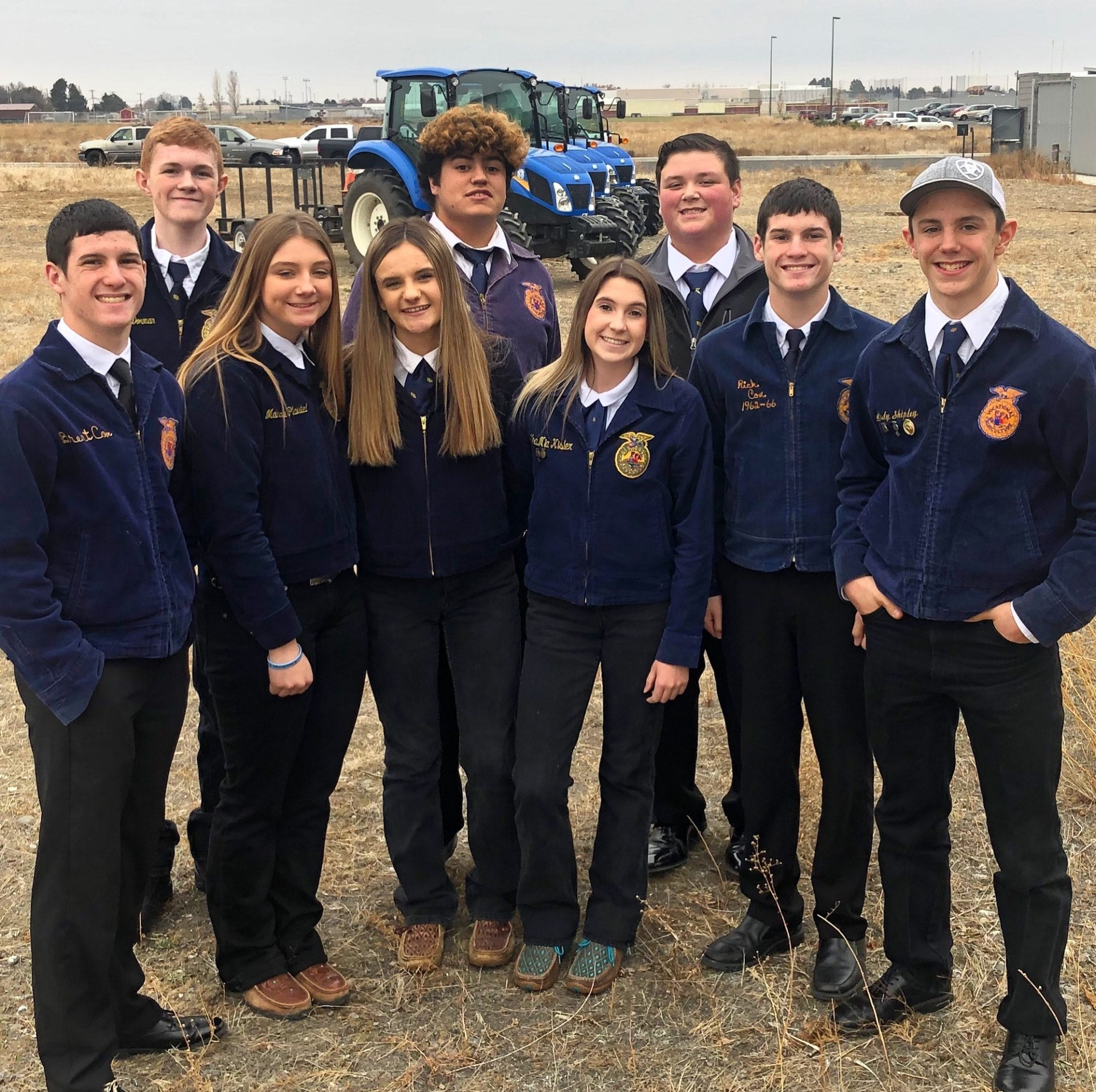 FFA Potato Evaluation team, State Potato Career Development Event
