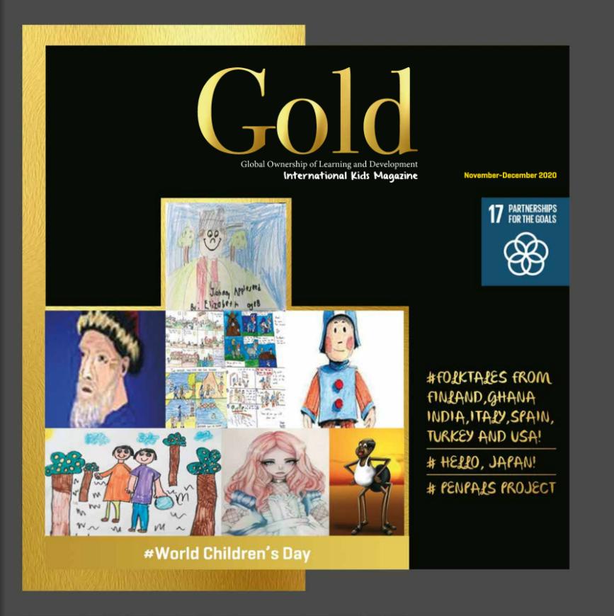 GOLD International Kids Magazine - November/December 2020