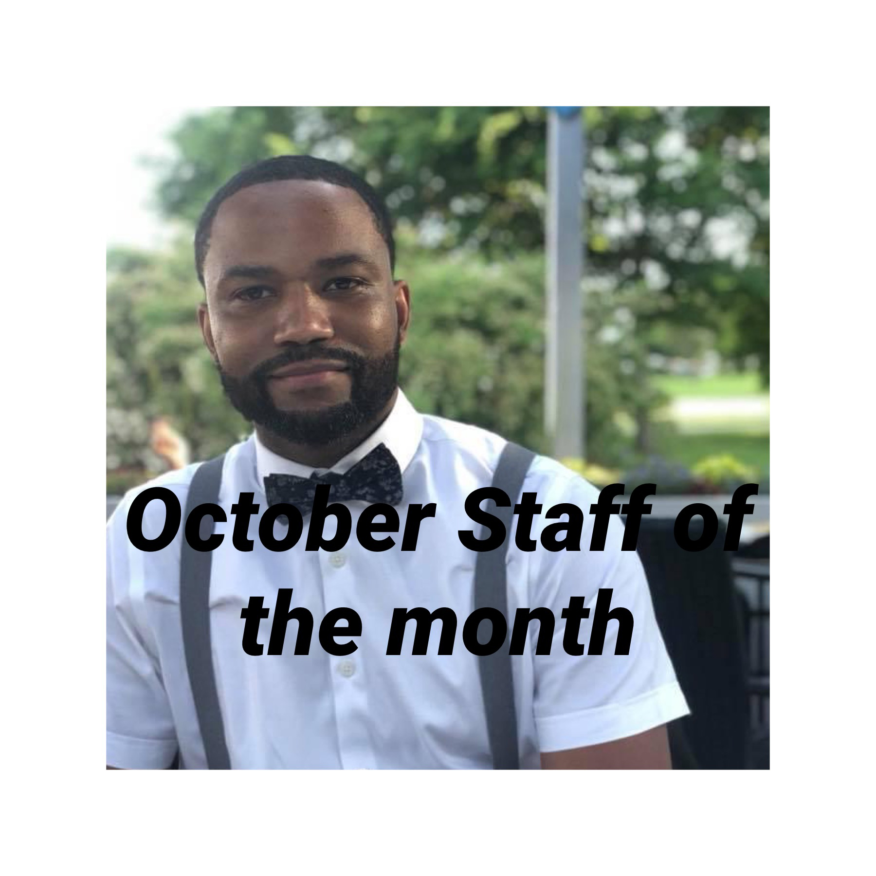 October Staff of the Month