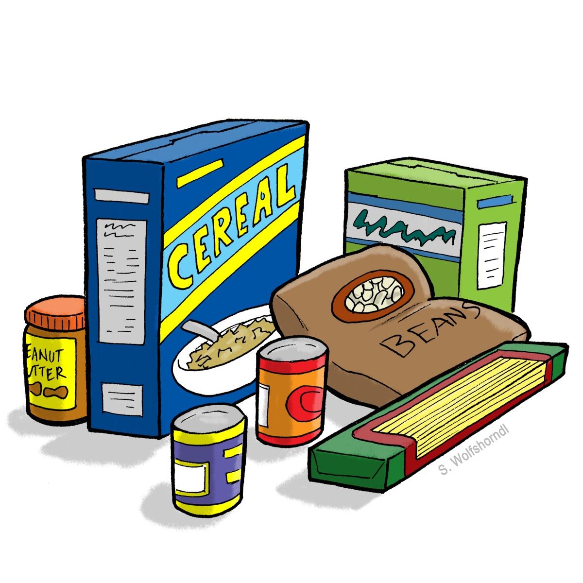 Pantry List/ Lista de despensa alimenticia