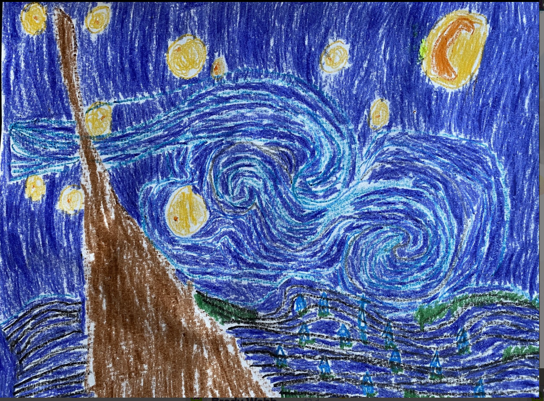 painted starry nights