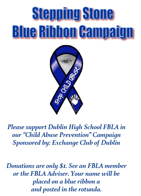 SUPPORT DUBLIN HIGH'S 'CHILD ABUSE PREVENTION' CAMPAIGN