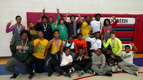 DMS WRESTLING TAKES SECOND AT REGION TOURNAMENT