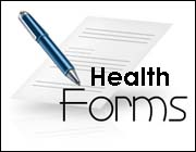 Registration Health Forms