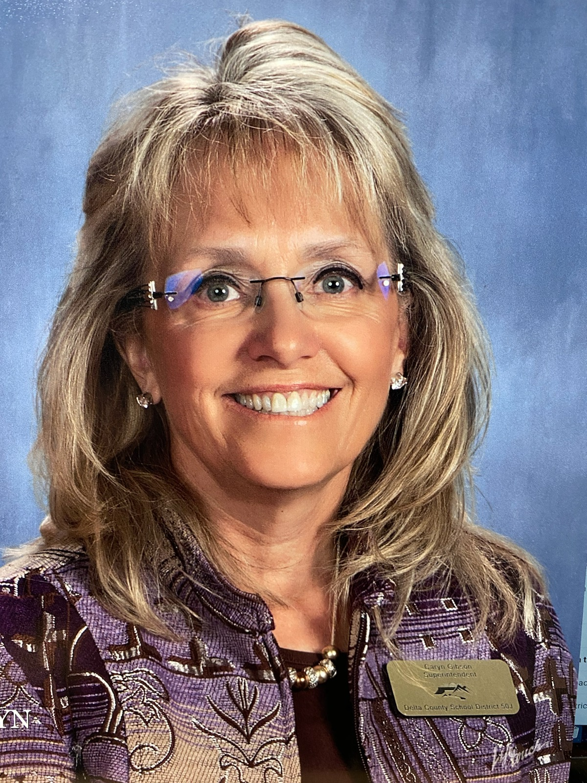 Superintendent Caryn Gibson