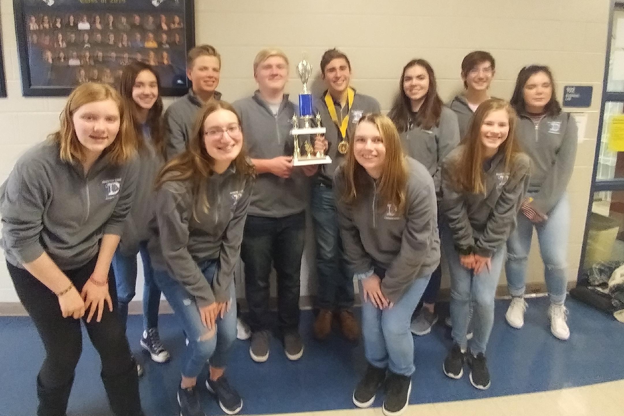 Blue Ridge Tournament Champions!
