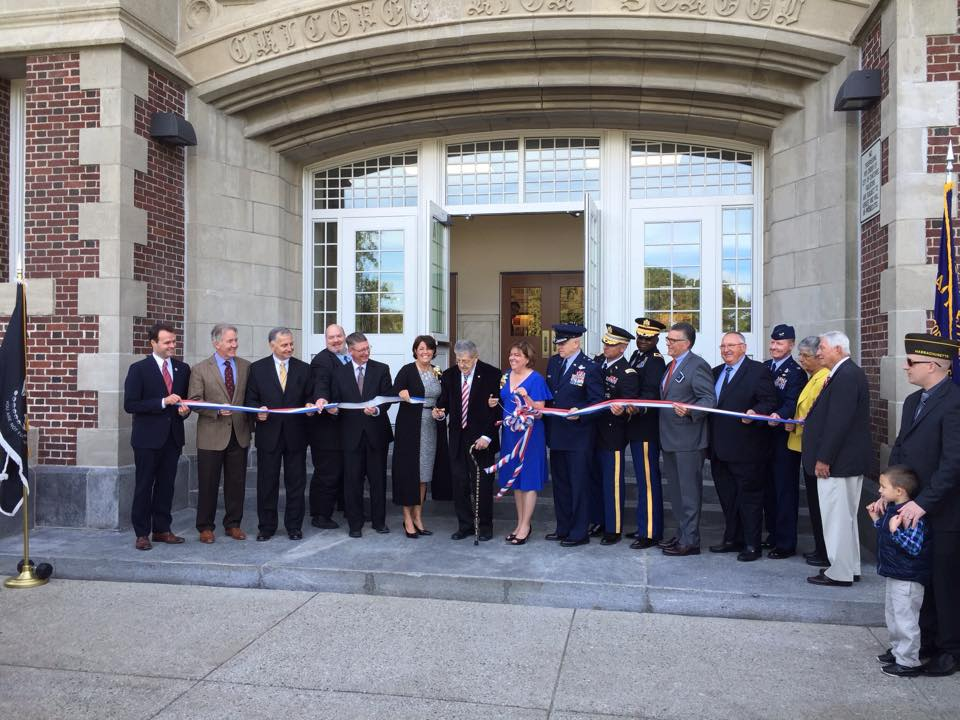 1st Sergeant Kevin A. Dupont Memorial Middle School Dedication Ceremony