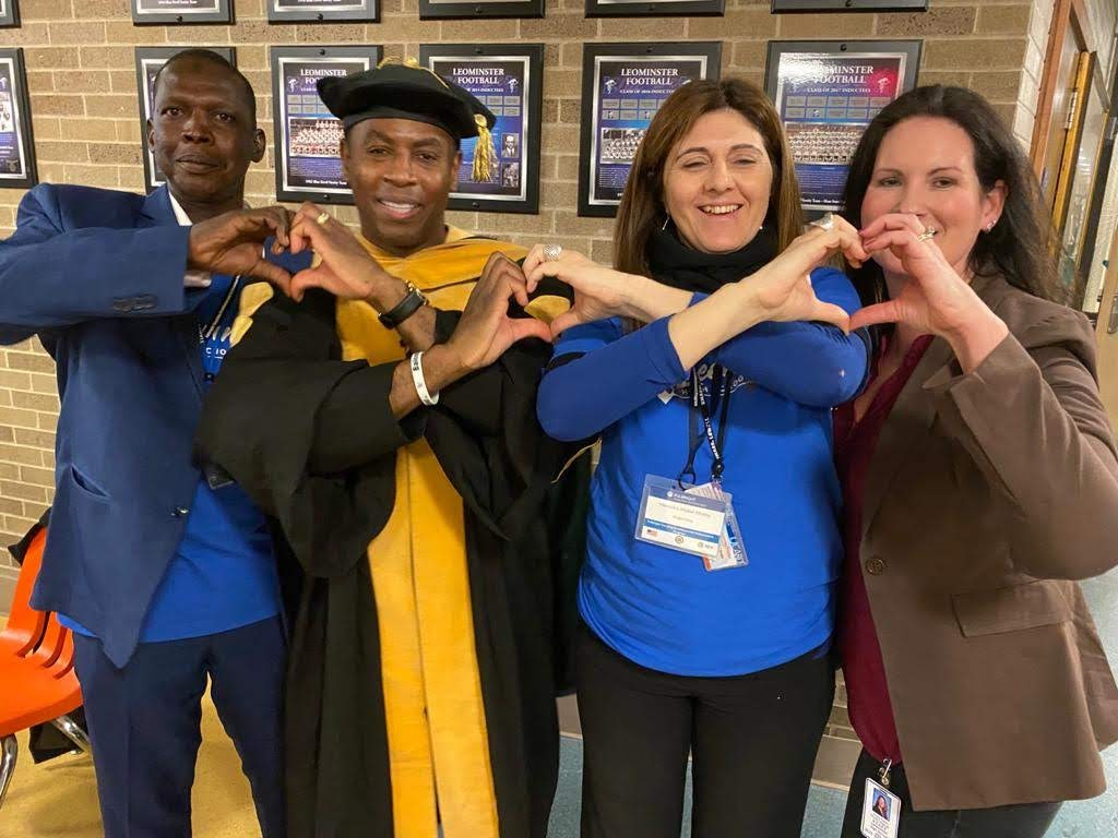 LHS World Language and Fulbright Partner Up at PD with Dr. Adolph Brown