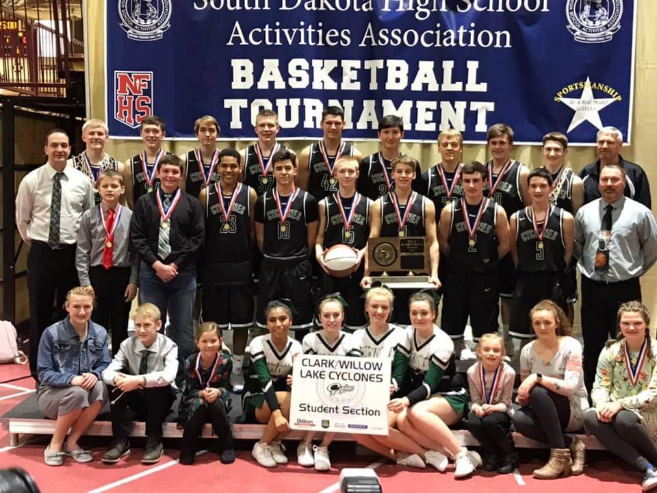 2019 South Dakota STATE 'B' Boys Basketball CHAMPIONS!!!