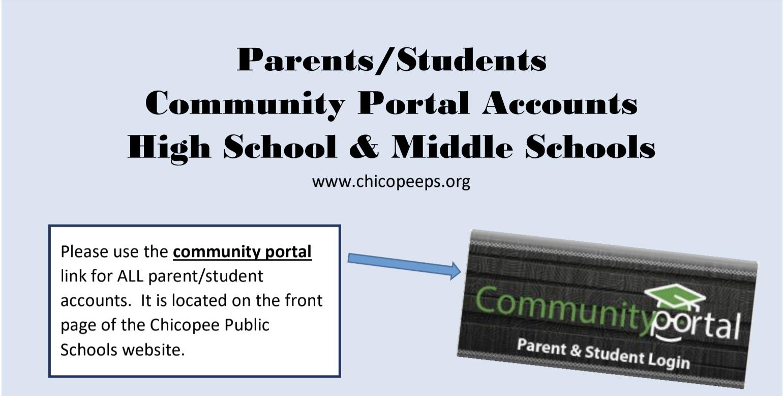community portal flyer