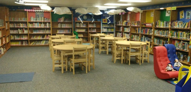 WELCOME TO SALAZAR ELEMENTARY LIBRARY