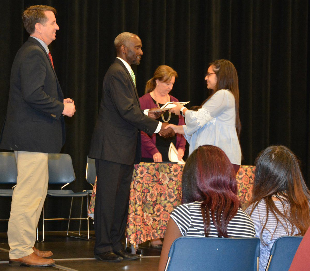 Granville Early College High School recognizes 103 Students of Merit