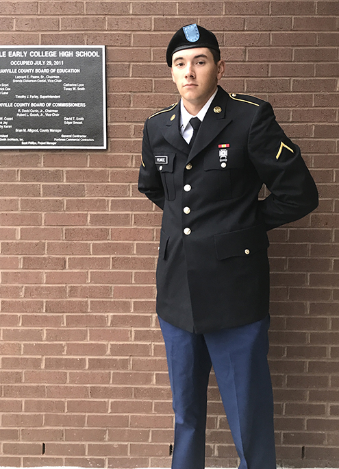 Cameron Pearce - GECHS Student Defending Our Country