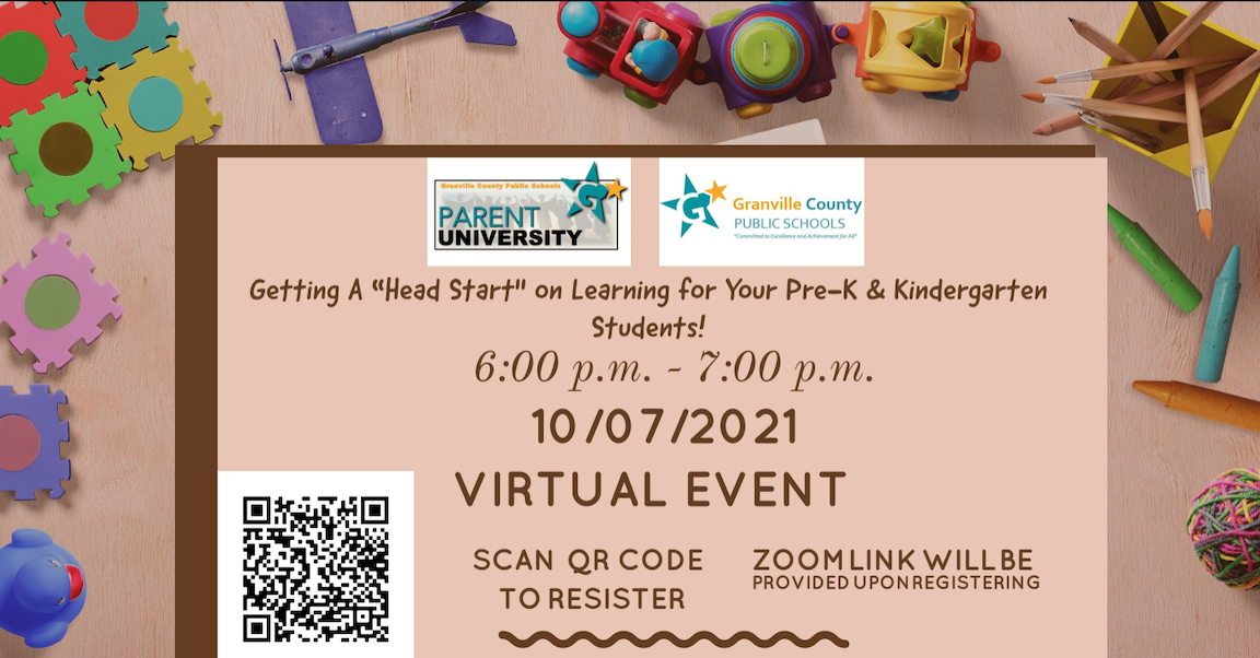 """Getting A """"Head Start"""" on Learning for Your Pre-K & Kindergarten Students"""