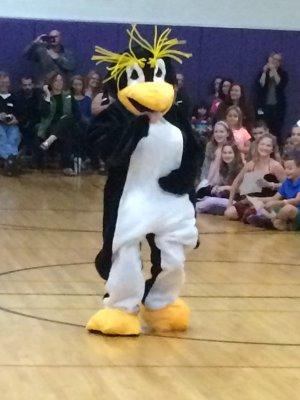 TVES Mascot - Rocky the Rockhopper Penguin