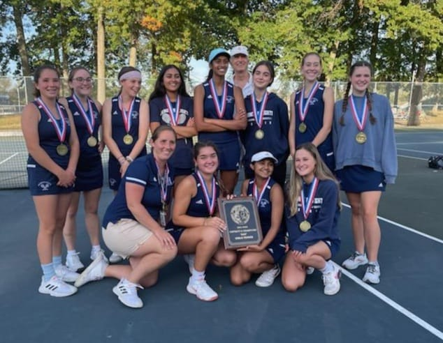 Girls Tennis District II 3A Champions! Go Comets!!