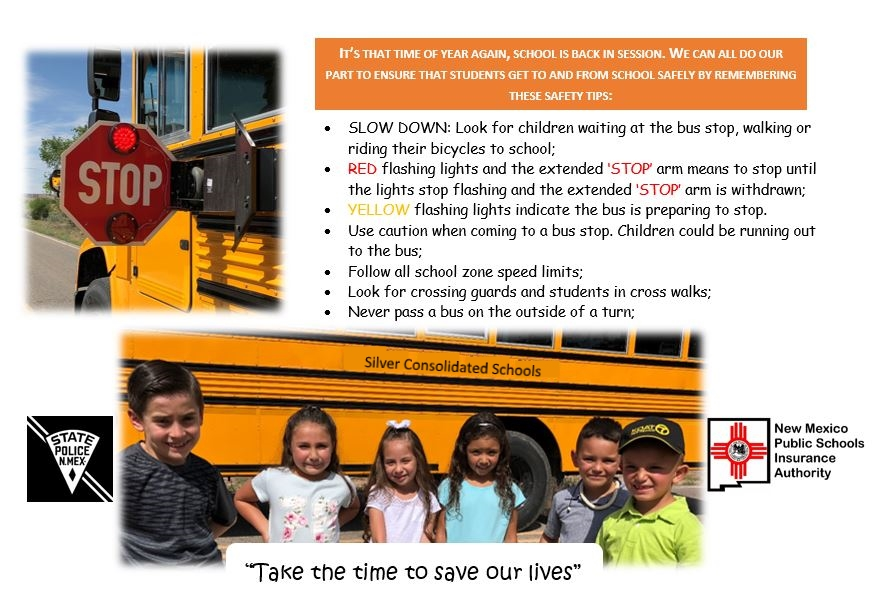 NMPSIA & NMSP Bus Safety Campaign