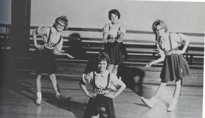 1964 Cheerleaders