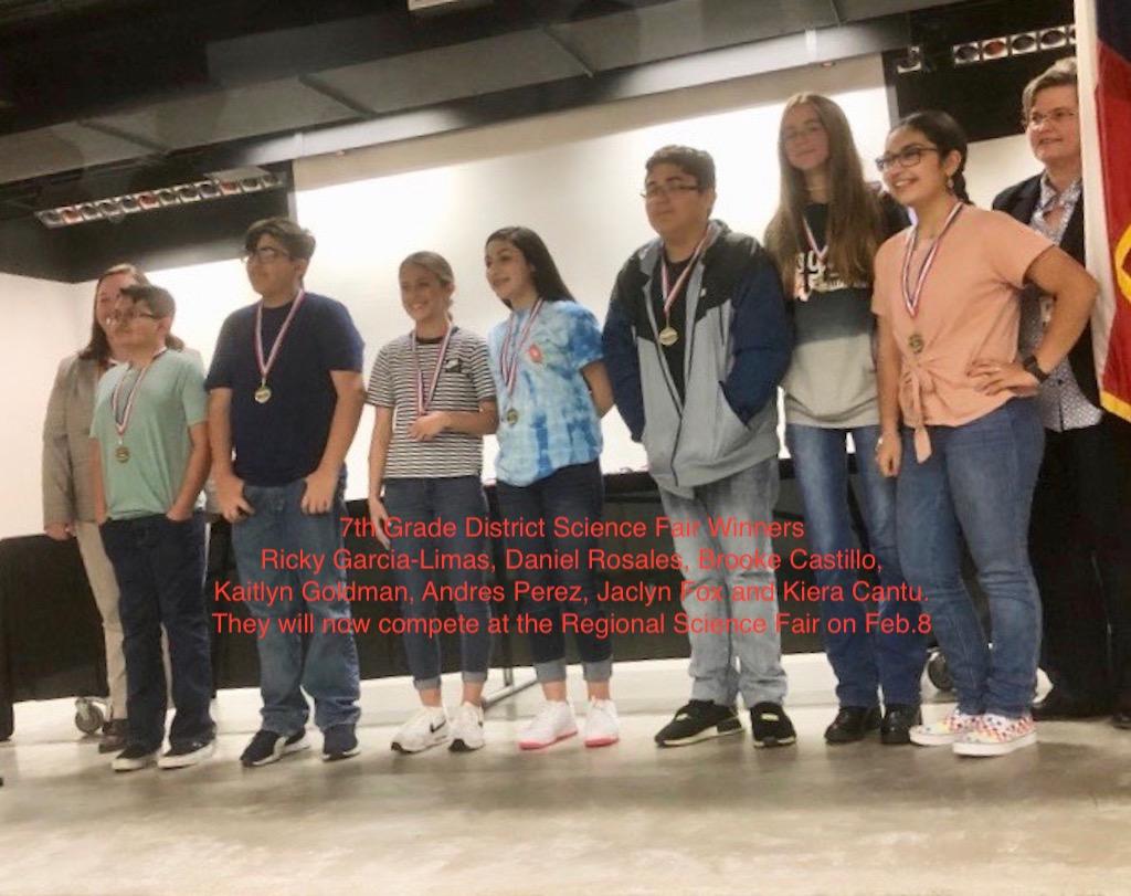 District Science Fair Winners