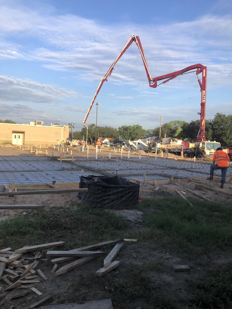 Construction at WAMS 9/16/20