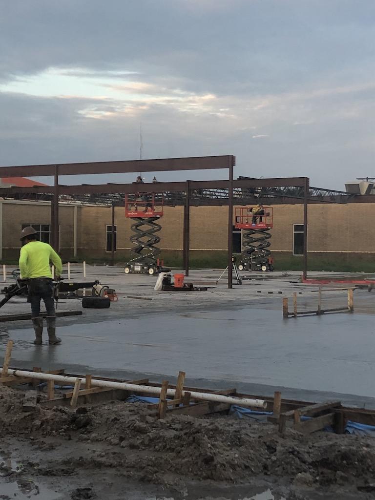 Construction on 9/18/20