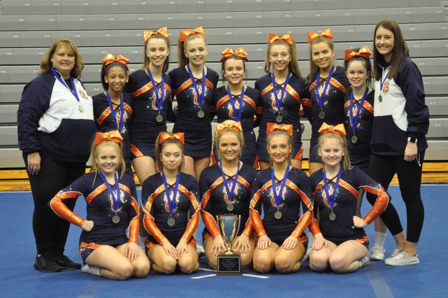 2019-20 SIRR Cheer Competition Champions