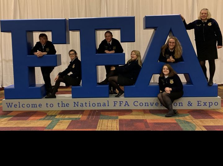 Frontier FFA attend Nationals in Indianapolis