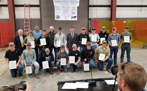 15 East welders Compete in Steel Welding Days
