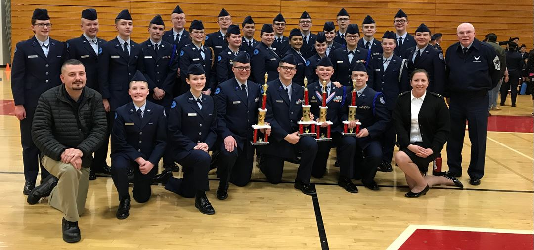 East AFJROTC compete in colorado