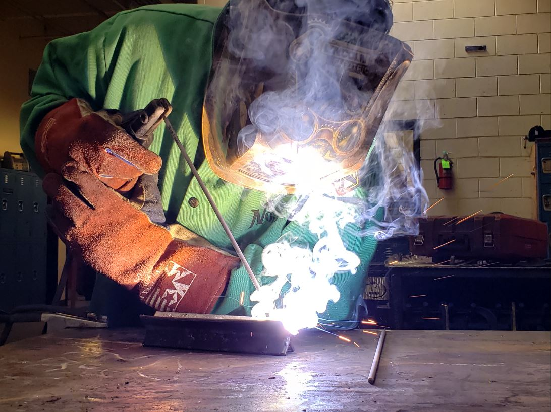 East welder prepares for competition