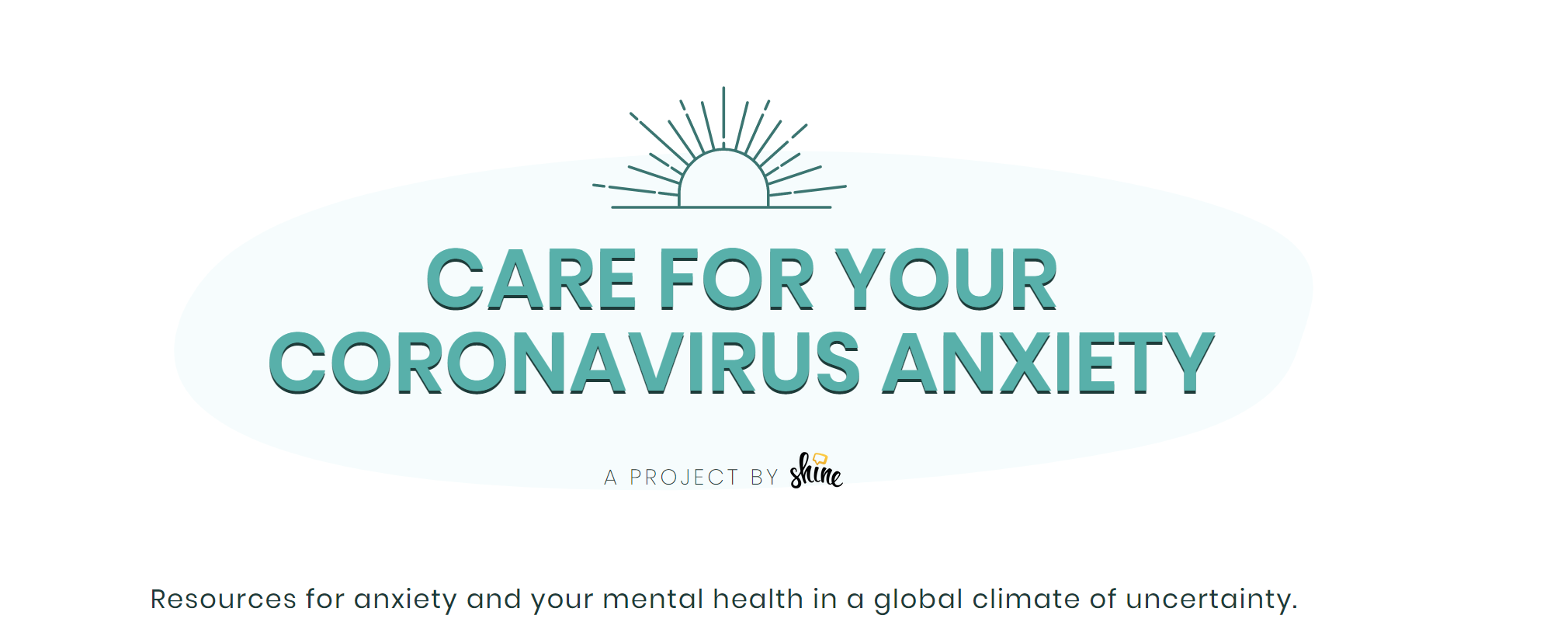 Care for your Coronavirus Anxiety for Parents